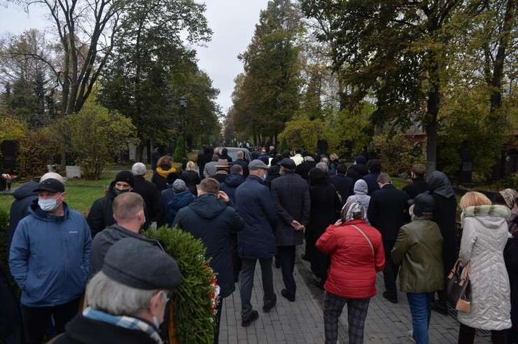С Ириной Скобцевой прощаются близкие, коллеги и поклонники
