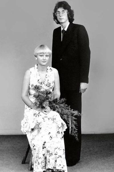 Свадебное платье Анне Вески в дальнейшем использовала для выступлений и съемок клипов