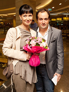 Нонна Гришаева с мужем Аалександром