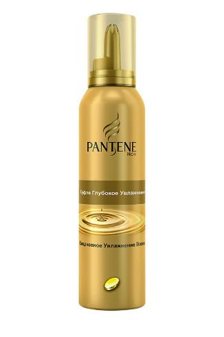 Pantene Pro-V Суфле для волос «Глубокое увлажнение», 210 руб.