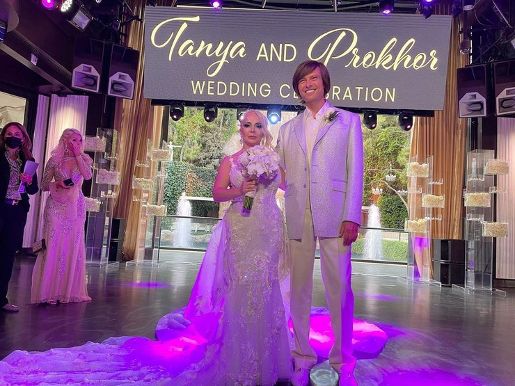 Супруги сыграли свадьбу в Лас-Вегасе 31 июля