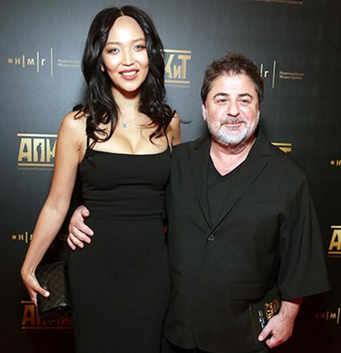 Александр Цекало и Дарина Эрвин