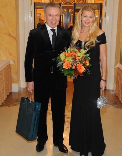 Вячеслав Фетисов с женой Ладой
