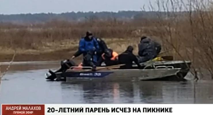 Тело было найдено в реке