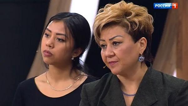 Азима Абдумаминова с дочерью Зарифой