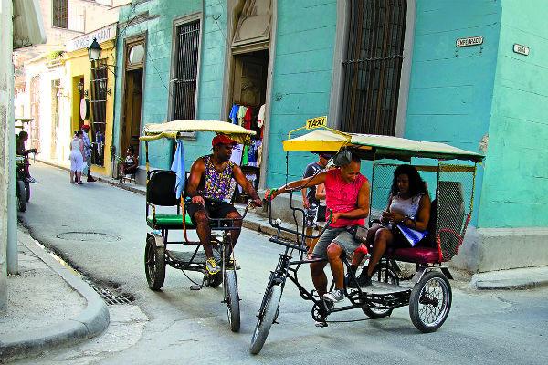 Велорикши проедут по самым узким улицам