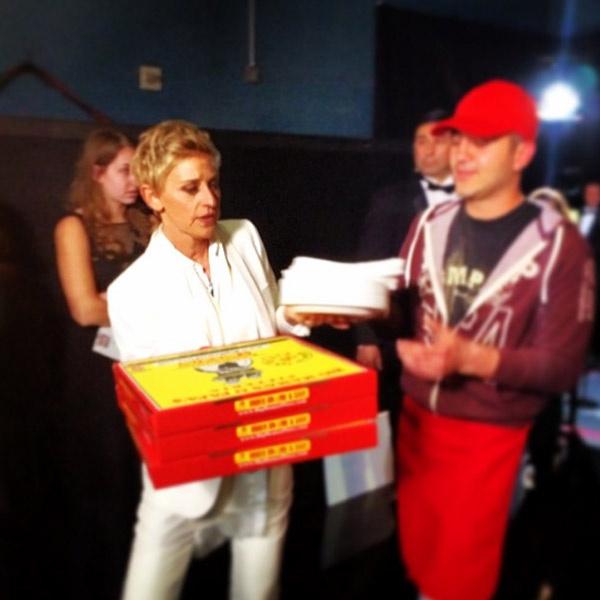 Эллен Дедеженерес и ее пицца