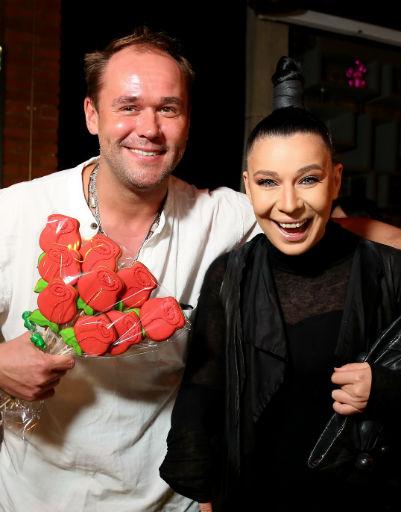 Максим Аверин и певица Елка