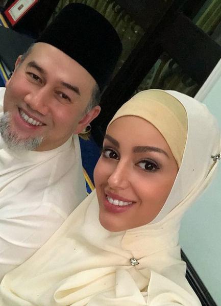 Оксана и Мухаммад V расстались, не прожив вместе и года