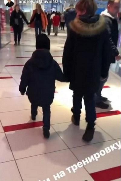 Сыновья Андрея Аршавина