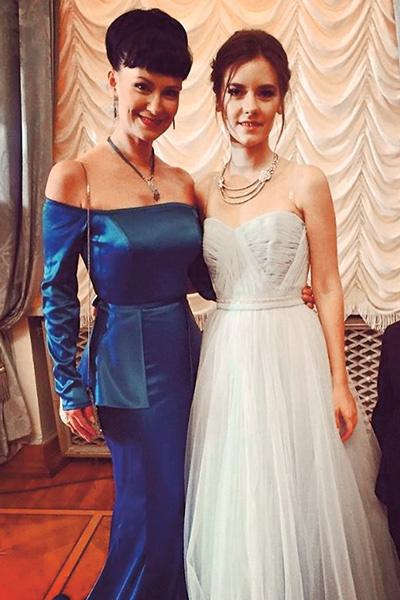 Нонна Гришаева и дочерью Анастасией