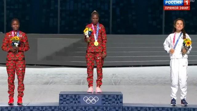 Победительницы марафона