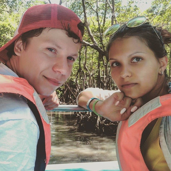После свадьбы пара уехала в Доминикану