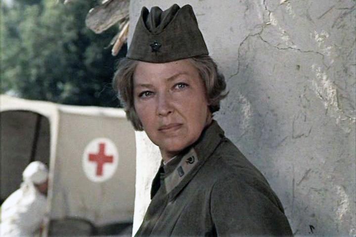 Ирина Скобцева сыграла в картине старшую медсестру