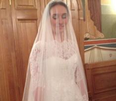 Анастасия Винокур обвенчалась с мужем