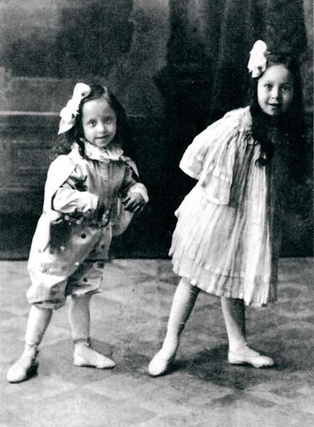 Янина Жеймо выступала с сестрой Элей и мамой
