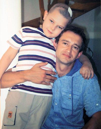 11-летний Влад Титоренко из Запорожья – один из детей, спасенных Хабенским