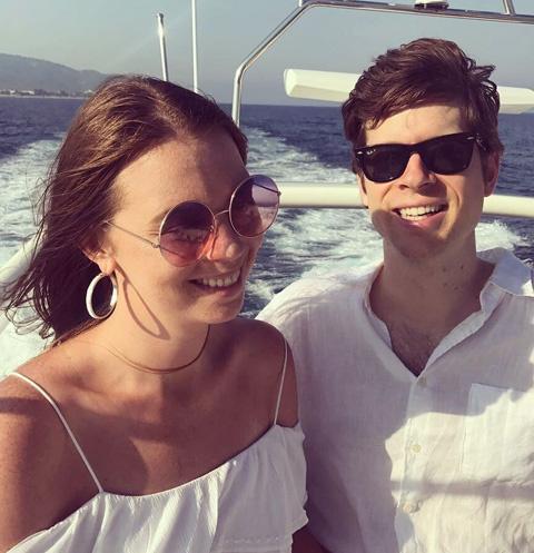 Анастасия Стриженова с мужем Петром Грищенко отдыхают в Турции