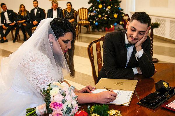 Свадьба Черно и Оганесяна состоялась в декабре 2018 года