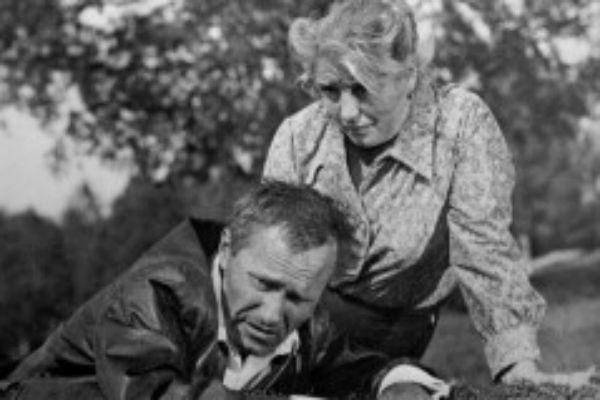Василий Шукшин часто снимался вместе с женой