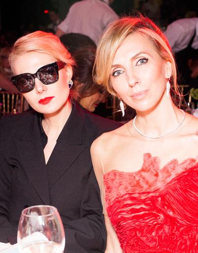 Рената Литвинова и Светлана Бондарчук