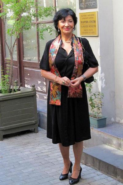 Нани Брегвадзе также снималась во многих фильмах