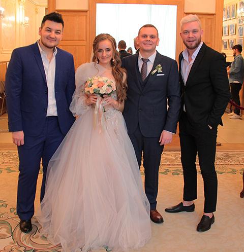 Стиль жизни: Красавцы Love Radio провели свадьбы в Грибоедовском ЗАГСе – фото №1