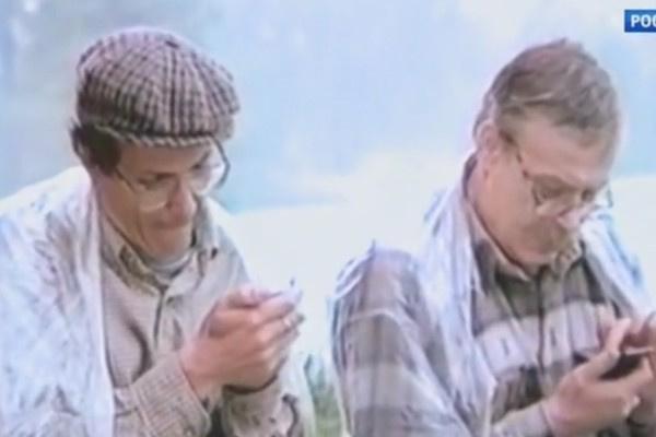 В 90-е Алексей Лысенков иногда снимался в рекламе