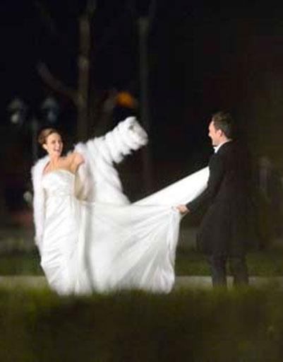 Свадьба Анны Снаткиной и Виктора Васильева состоялась в октябре 2012 года. В тот момент Анна уже носила под сердцем дитя