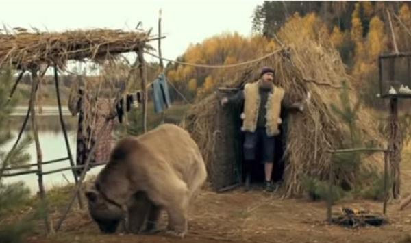 Партнером Куценко по картине «Графомафия» был... медведь