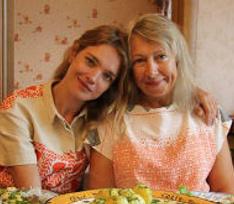 Наталья Водянова одобряет мамино хобби
