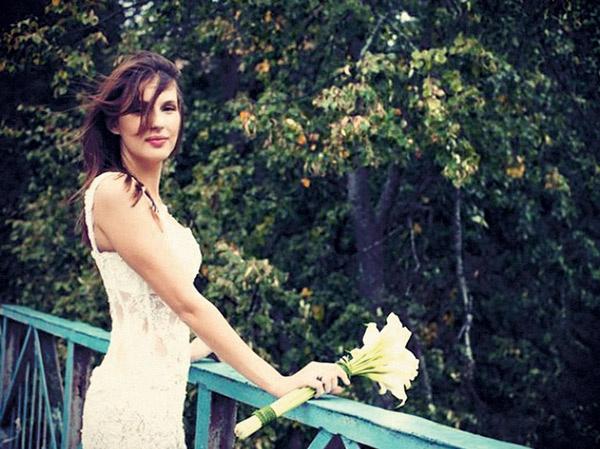 Свадьба влюбленных состоялась в начале сентября, но свадебного путешествия пока не было – первую половину осени пара провела в Москве