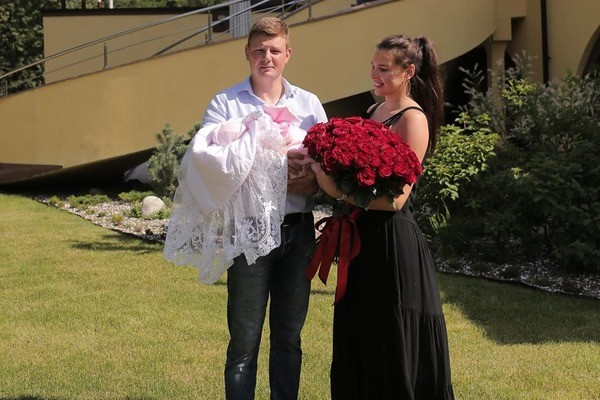 Супруги с удовольствием ждали появления наследницы на свет