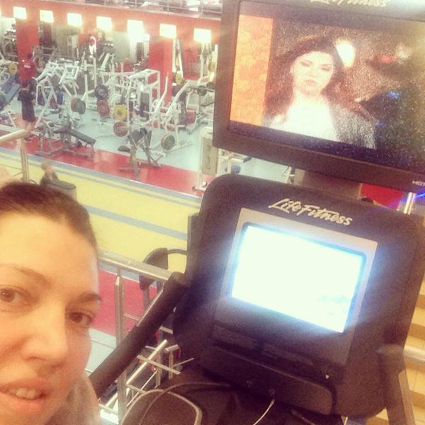 Екатерина Скулкина предпочитает велотренажеры