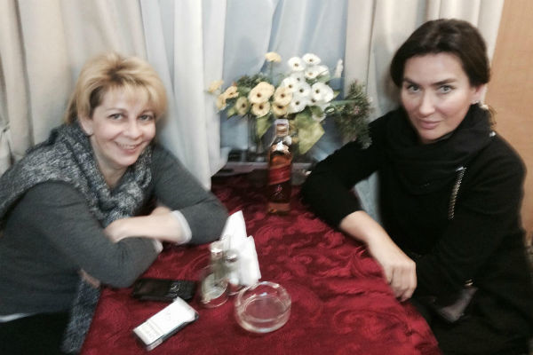 Доктор Лиза и Ксения Соколова