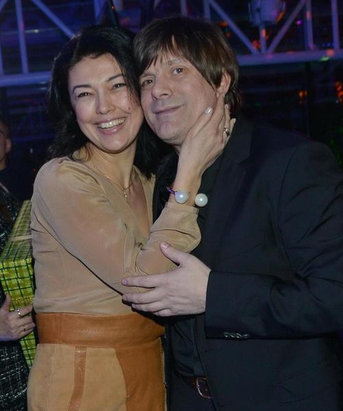 Художник с женой Ириной