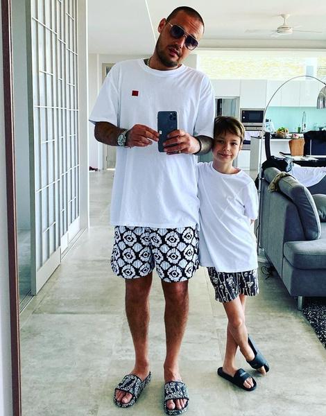 Гуф отдыхает с сыном в Таиланде