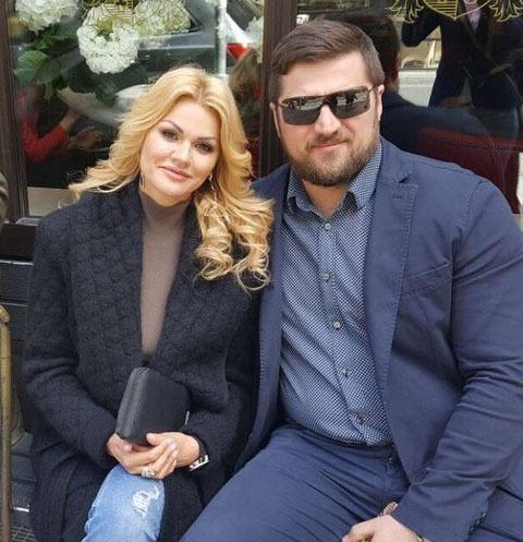 Ирина Круг с мужем