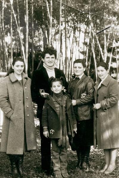 Диана Гурцкая была младшим ребенком в семье