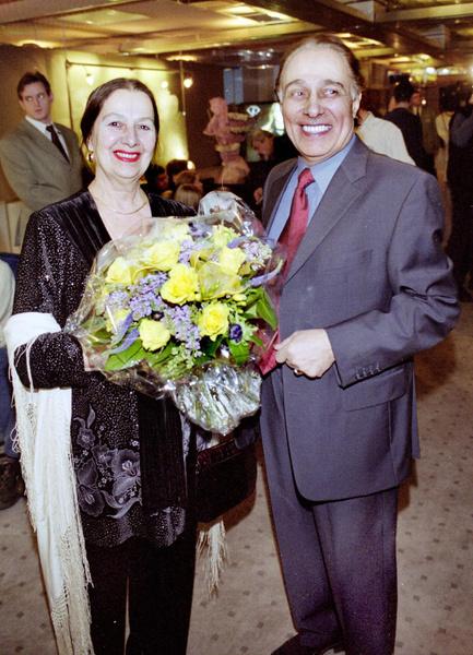 Николай Сличенко с супругой