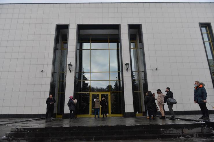 Церемония проходит в закрытом режиме