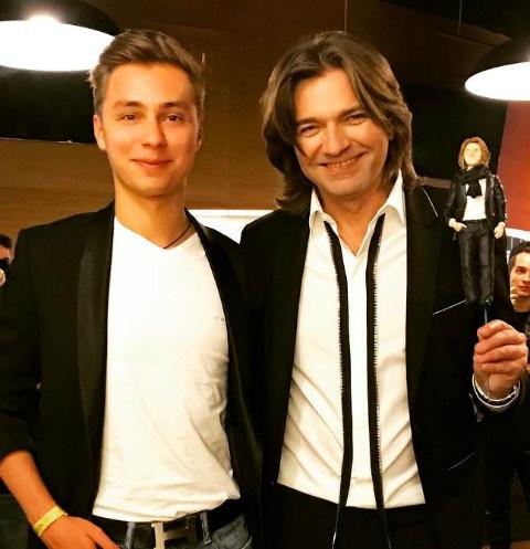 Дмитрий Маликов с племянником
