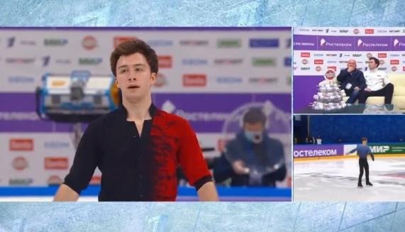 Дмитрий Алиев с девятого места поднялся на третье