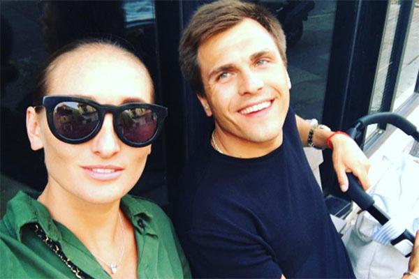Анастасия Винокур с мужем Григорием Матвеевичевым