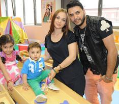 Звездные дети повеселились в развивающем центре