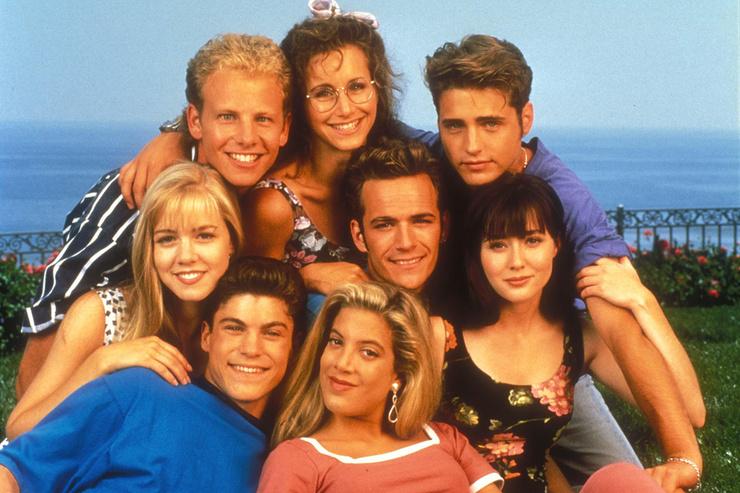 Тори была звездой популярного сериала «Беверли-Хиллз 90210»