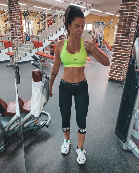 Виктория Романец весит 59 килограммов