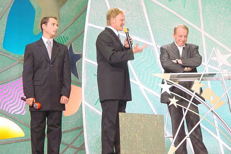 Александра Васильевича окрестили бессменным ведущим КВН