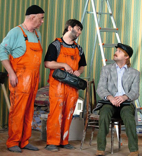 Михаил Галустян и Сергей Светлаков были авторами и исполнителями главных ролей в скетчкоме «Наша Russia»