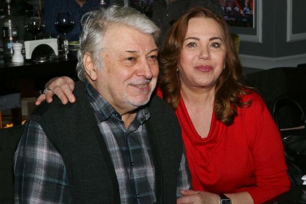 Вячеслав Добрынин со второй супругой Ириной